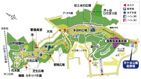 芹が谷マップ